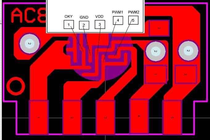 COB绑定图纸,常规音乐芯片语音COB
