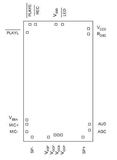 ISD1616邦定图