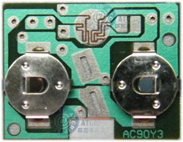 3V两节AG10,AG13,LR44钮扣电池供电COB